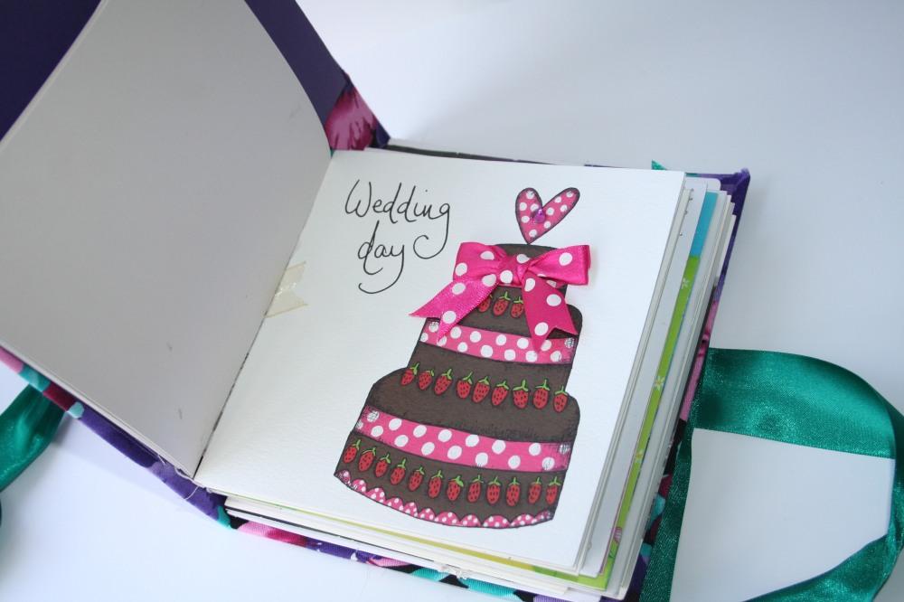 Amy's Button Box Wedding Card Book